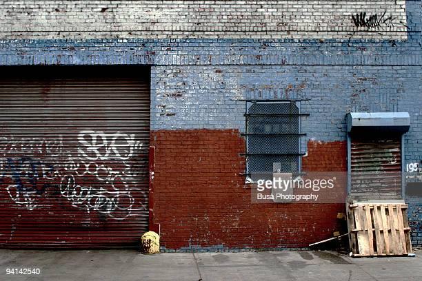 Decrept Wall in Brooklyn