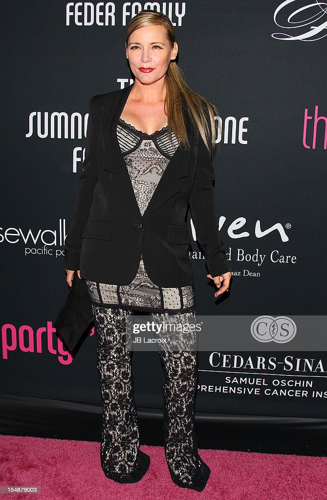 Dedee Pfeiffer attends the 8th Annual Pink Party at Barkar Hangar on October 27, 2012 in Santa Monica, California.