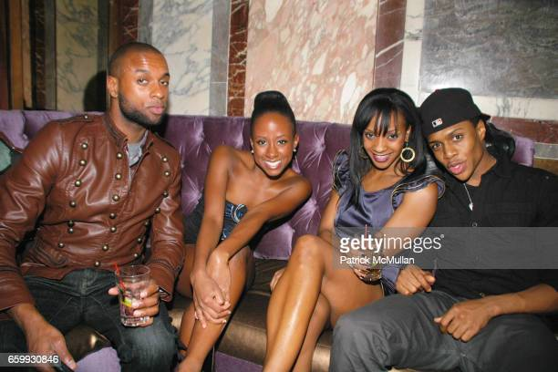 Dedrick Anthony Rachel Candice Monet McCall and Ephraim Sykes attend Junior Society of BALLET HISPANICO HOLIDAY BENEFIT Silent Auction sponsored by...
