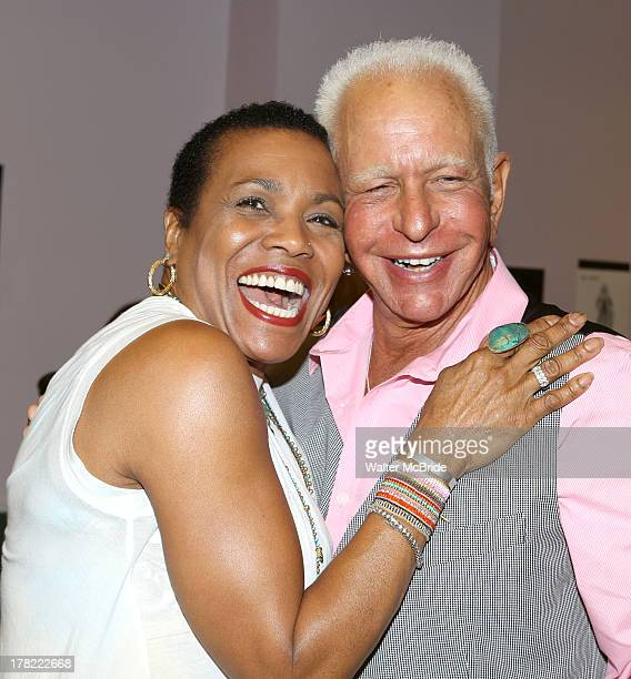 Dee Dee Bridgewater and Director Stephen Stahl attend the 'Lady Day' On Broadway Meet Greet at Ripley Grier Rehearsal Studio on August 27 2013 in New...