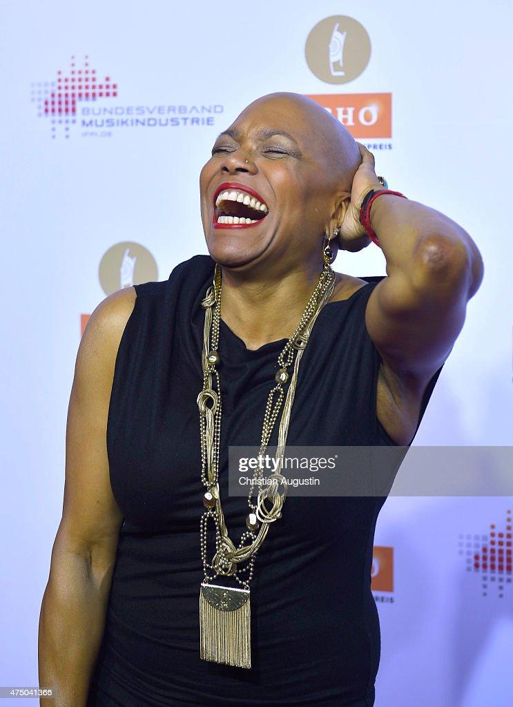 <a gi-track='captionPersonalityLinkClicked' href=/galleries/search?phrase=Dee+Dee+Bridgewater&family=editorial&specificpeople=2518501 ng-click='$event.stopPropagation()'>Dee Dee Bridgewater</a> attends the Echo Jazz 2015 at the dockyard of Blohm+Voss on May 28, 2015 in Hamburg, Germany.