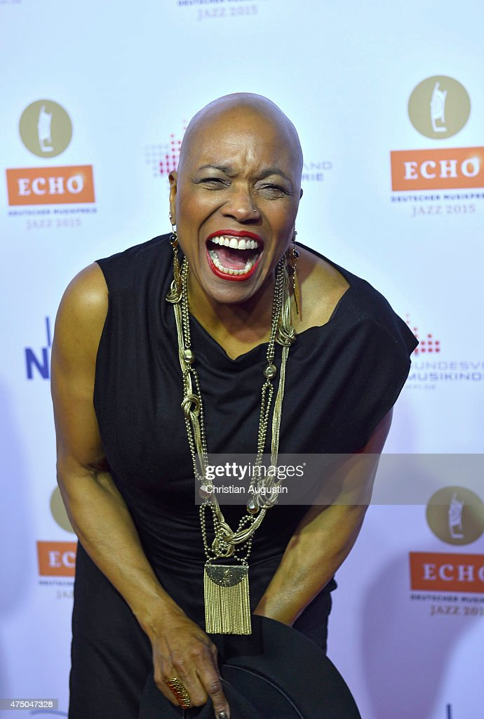 Dee Dee Bridgewater attends the Echo Jazz 2015 at the dockyard of BlohmVoss on May 28 2015 in Hamburg Germany