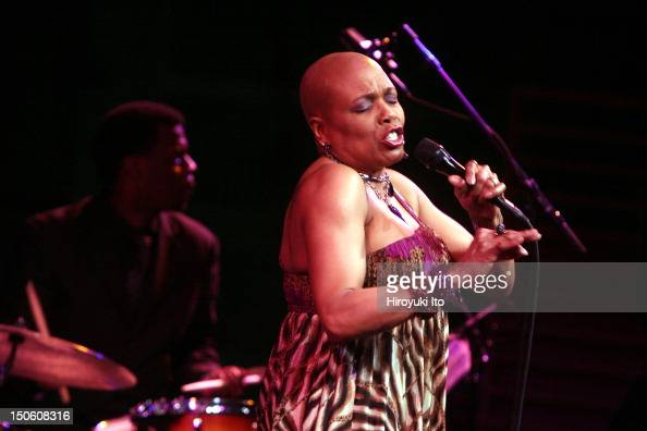Dee Dee Bridgewater performing at the Allen Room as part of Lincoln Center's American Songbook series on Wednesday night February 17 2010This...