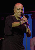Dee Dee Bridgewater performs during the 2014 Newport Jazz Festival at the International Tennis Hall of Fame on August 1 2014 in Newport Rhode Island