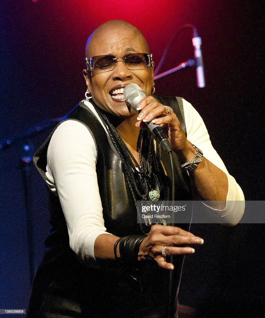 Dee Dee Bridgewater performs on stage at Ronnie Scott's for the London Jazz Festival on November 16, 2012 in London, United Kingdom.