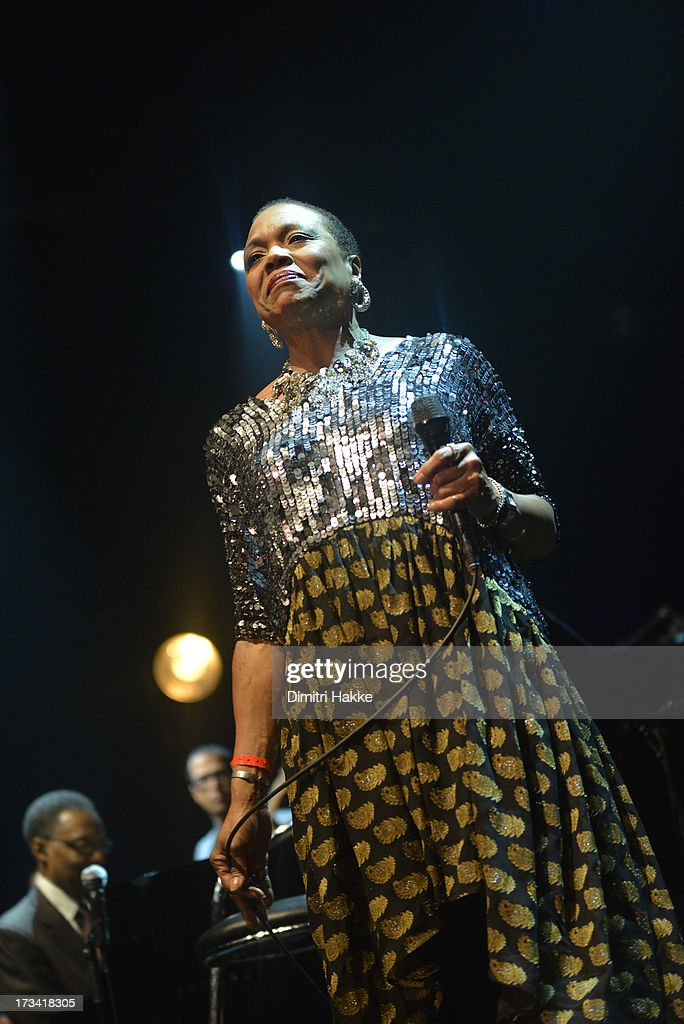 Dee Dee Bridgewater performs on stage on Day 2 at North Sea Jazz Festival 2013 at Ahoy on July 13 2013 in Rotterdam Netherlands