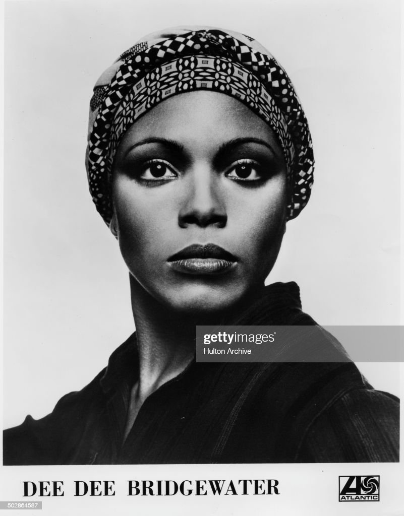 Dee Dee Bridgewater poses of a headshot for the Broadway play 'The Wiz ' circa 1975