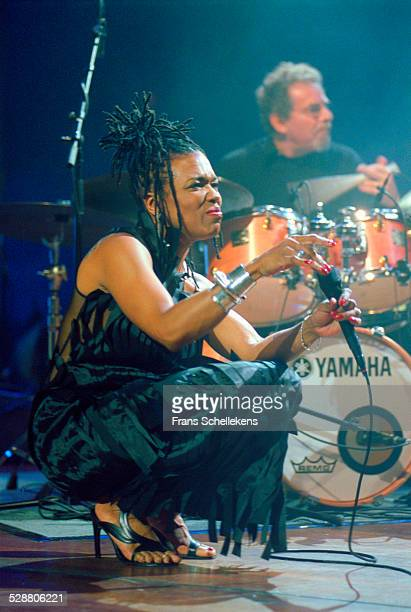 Dee Dee Bridgewater vocal performs on July 12th 2002 at the North Sea Jazz Festival the Hague Netherlands