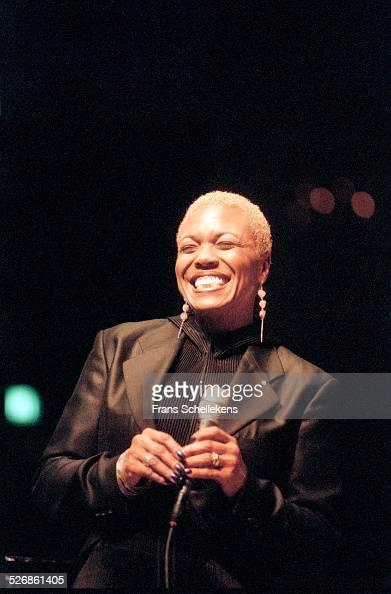 Dee Dee Bridgewater vocals performs at the Concertgebouw on November 3rd 1997 in Amsterdam Netherlands