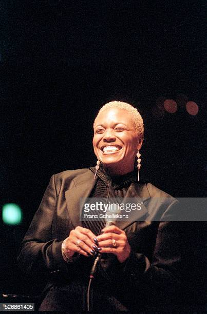 Dee Dee Bridgewater vocals performs at the Concertgebouw on November 3rd 1997 in Amsterdam Netherlands