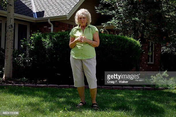 Dee Fleming stands in her front yard at the spot where her son attempted suicide He ingested  chemicals and lit himself on fire I turned it into my...