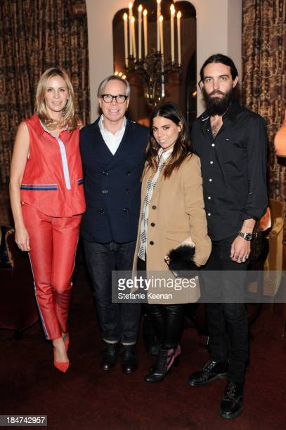 Dee Hilfiger Tommy Hilfiger Ally Hilfiger and Steve Hash attend Tommy Hilfiger Celebrates George Esquivel Capsule Footwear Collection in Los Angeles...