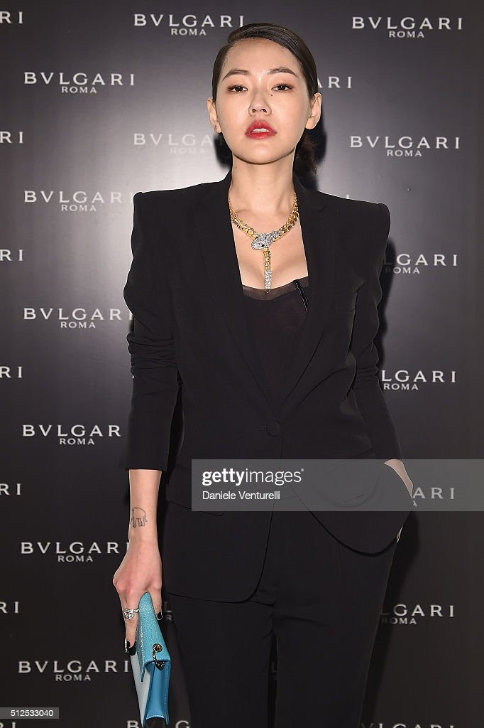 <a gi-track='captionPersonalityLinkClicked' href=/galleries/search?phrase=Dee+Hsu&family=editorial&specificpeople=4238913 ng-click='$event.stopPropagation()'>Dee Hsu</a> attends Bulgari dinner and after party during Milan Fashion Week FW16 at Hotel Bulgari on February 26, 2016 in Milan, Italy.
