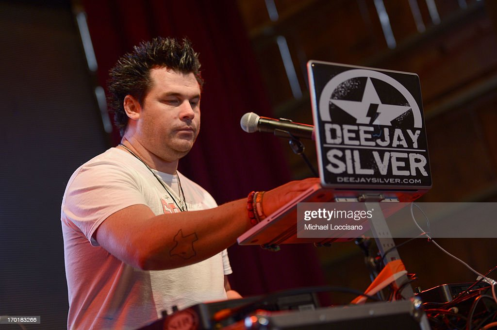 Dee Jay Silver performs at HGTV'S The Lodge At CMA Music Fest - Day 3 on June 8, 2013 in Nashville, Tennessee.