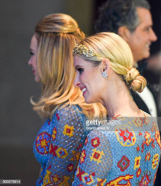 Dee Ocleppo and Nicky Hilton attend 'An Evening Honoring Valentino' Lincoln Center Corporate Fund Gala at Alice Tully Hall at Lincoln Center on...