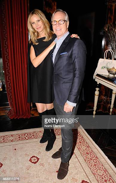 Dee Ocleppo and Tommy Hilfiger attend Dee Ocleppo Presentation for MercedesBenz Fashion Week Fall 2015 on February 12 2015 in New York City