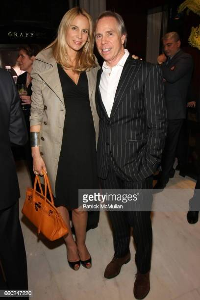 Dee Ocleppo and Tommy Hilfiger attend The Private Unveiling of GRAFF Time Watch Collection 1 at Graff on June 11 2009 in New York City