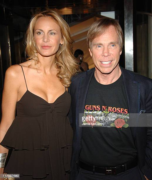 Dee Ocleppo and Tommy Hilfiger during 2006 CFDA Awards Red Carpet at New York Public Library in New York City New York United States