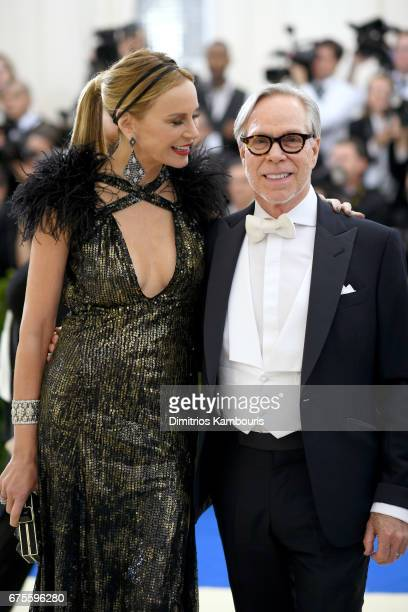Dee Ocleppo Hilfiger and Tommy Hilfiger attends the 'Rei Kawakubo/Comme des Garcons Art Of The InBetween' Costume Institute Gala at Metropolitan...