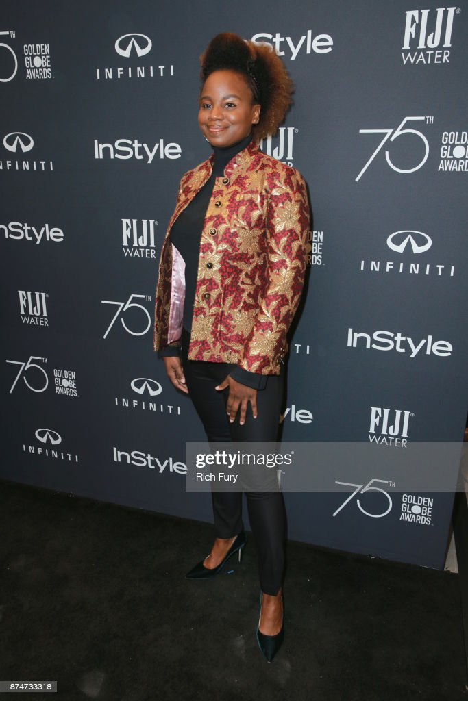 Dee Rees attends the Hollywood Foreign Press Association and InStyle celebrate the 75th Anniversary of The Golden Globe Awards at Catch LA on November 15, 2017 in West Hollywood, California.