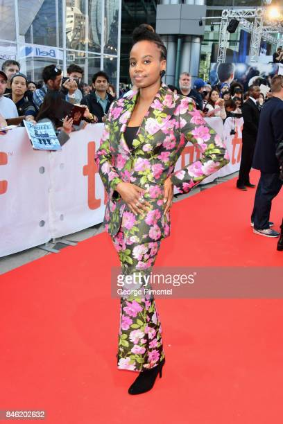 Dee Rees attends the 'Mudbound' premiere during the 2017 Toronto International Film Festival at Roy Thomson Hall on September 12 2017 in Toronto...