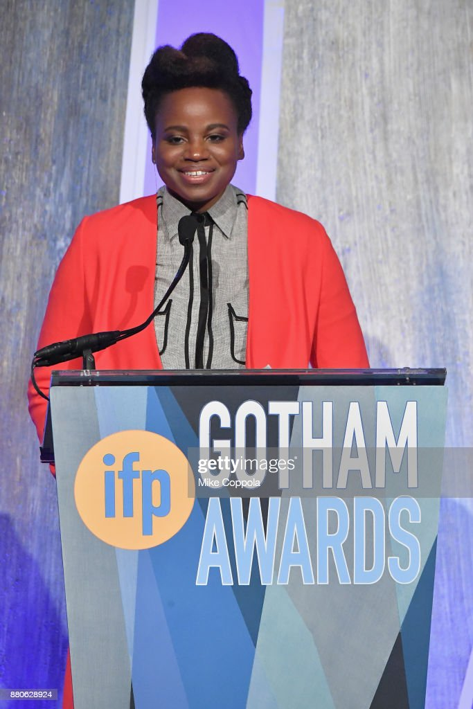 Dee Rees speaks onstage during IFP's 27th Annual Gotham Independent Film Awards on November 27, 2017 in New York City.