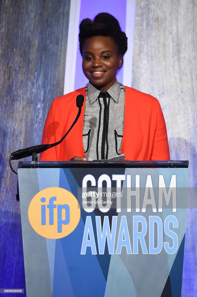 Dee Rees speaks onstage the 2017 IFP Gotham Awards at Cipriani Wall Street on November 27, 2017 in New York City.