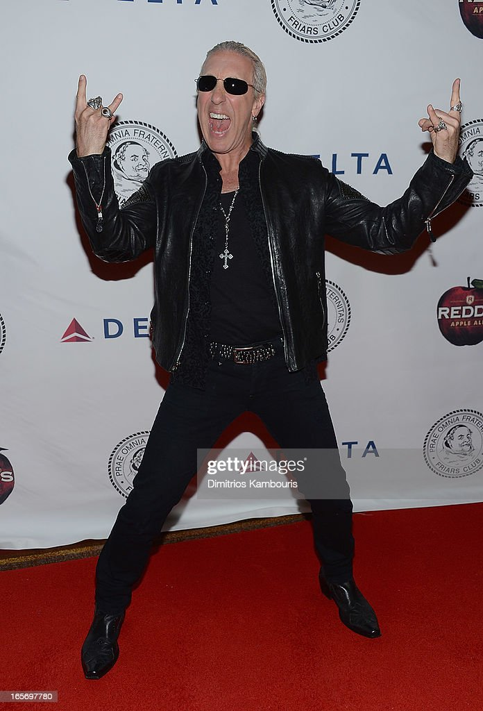 <a gi-track='captionPersonalityLinkClicked' href=/galleries/search?phrase=Dee+Snider&family=editorial&specificpeople=239139 ng-click='$event.stopPropagation()'>Dee Snider</a> attends The Friars Club Roast Honors Jack Black at New York Hilton and Towers on April 5, 2013 in New York City.