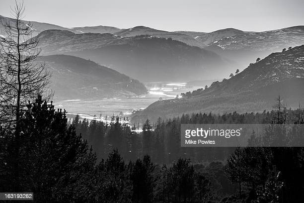 Dee Valley, from Craig Leek, Braemar, Scotland