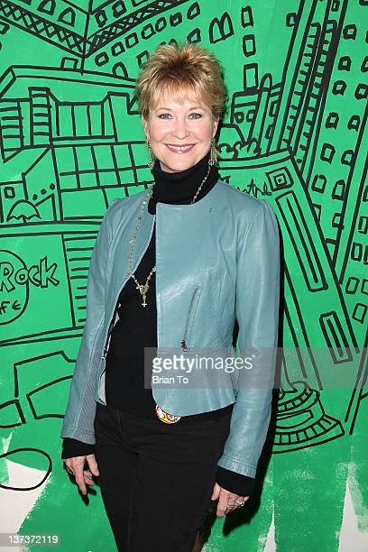 Dee Wallace attends the Red Line Tours of Hollywood unveiling of their new series of collectible souvenir tickets at Egyptian Theatre on January 19...