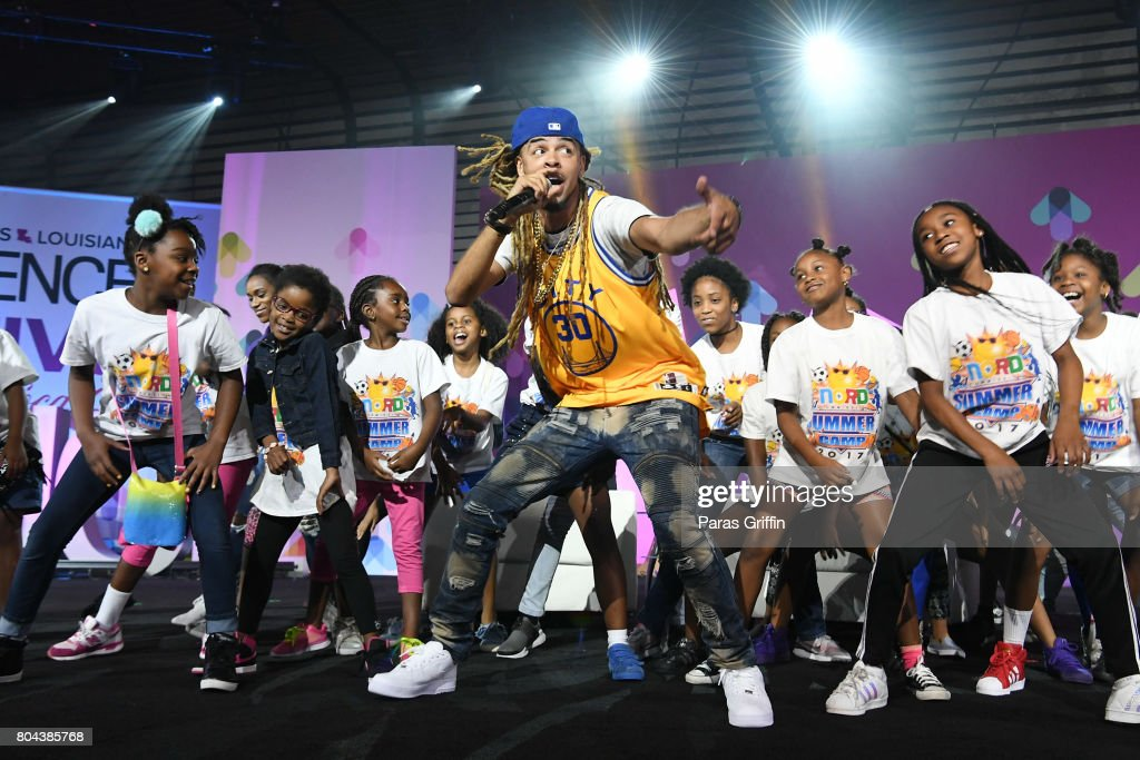 Dee-1 performs onstage at the 2017 ESSENCE Festival presented by Coca-Cola at Ernest N. Morial Convention Center on June 30, 2017 in New Orleans, Louisiana.