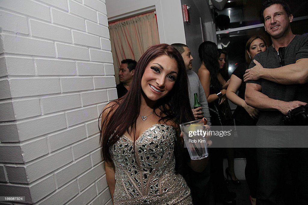 Deena Cortese attends her birthday celebration at Sky Room Times Square on January 12, 2013 in New York City.