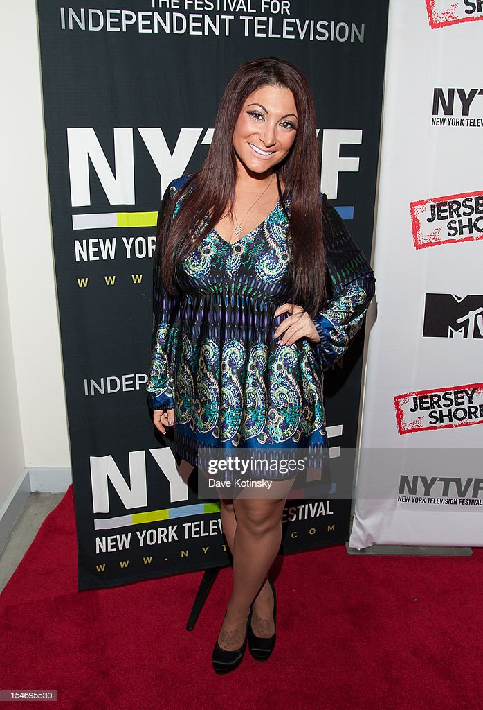 Deena Cortese attends 'Love, Loss, (Gym, Tan) and Laundry: A Farewell To The Jersey Shore' during the 2012 New York Television Festival at 92Y Tribeca on October 24, 2012 in New York City.