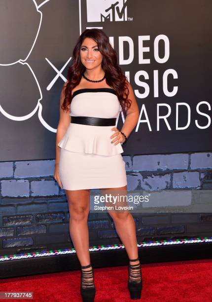Deena Cortese attends the 2013 MTV Video Music Awards at the Barclays Center on August 25 2013 in the Brooklyn borough of New York City