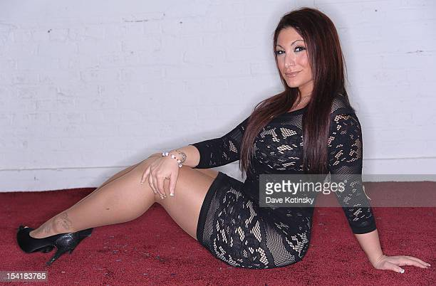 Deena Cortese poses for a photo shoot on October 15 2012 in Little Falls New Jersey