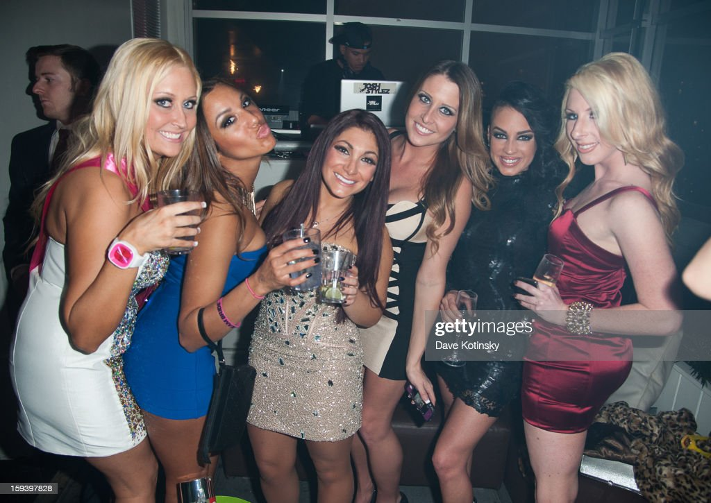Deena Nicole Cortese and guests on January 12, 2013 in New York City.