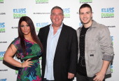 Deena Nicole Cortese Elvis Duran and Vinny Guadagnino visit 'The Elvis Duran Z100 Morning Show' at Z100 Studio on March 14 2012 in New York City