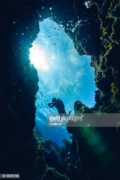 deep blue the Mediterranean