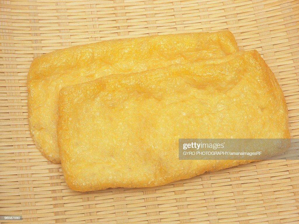 Deep fried tofu : Stock Photo