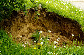 Hole in the ground formed naturally, The mystery of nature