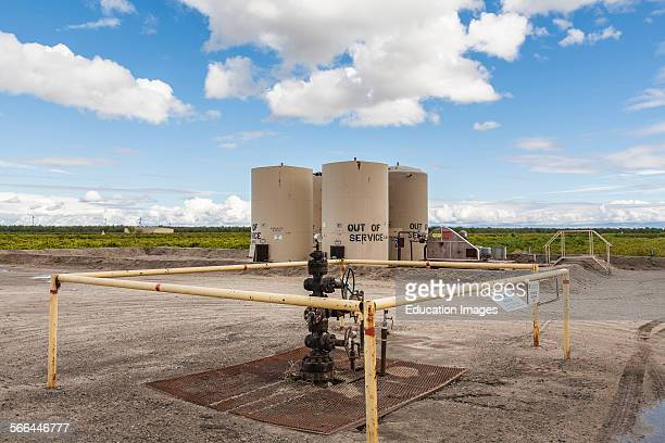 Deep injection well used for disposal of wastewater Kern County located over the Monterey Shale has seen a dramatic increase in oil drilling and...