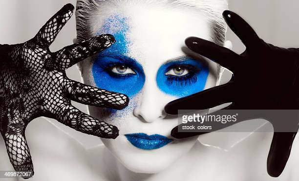 Tiefe Make-up