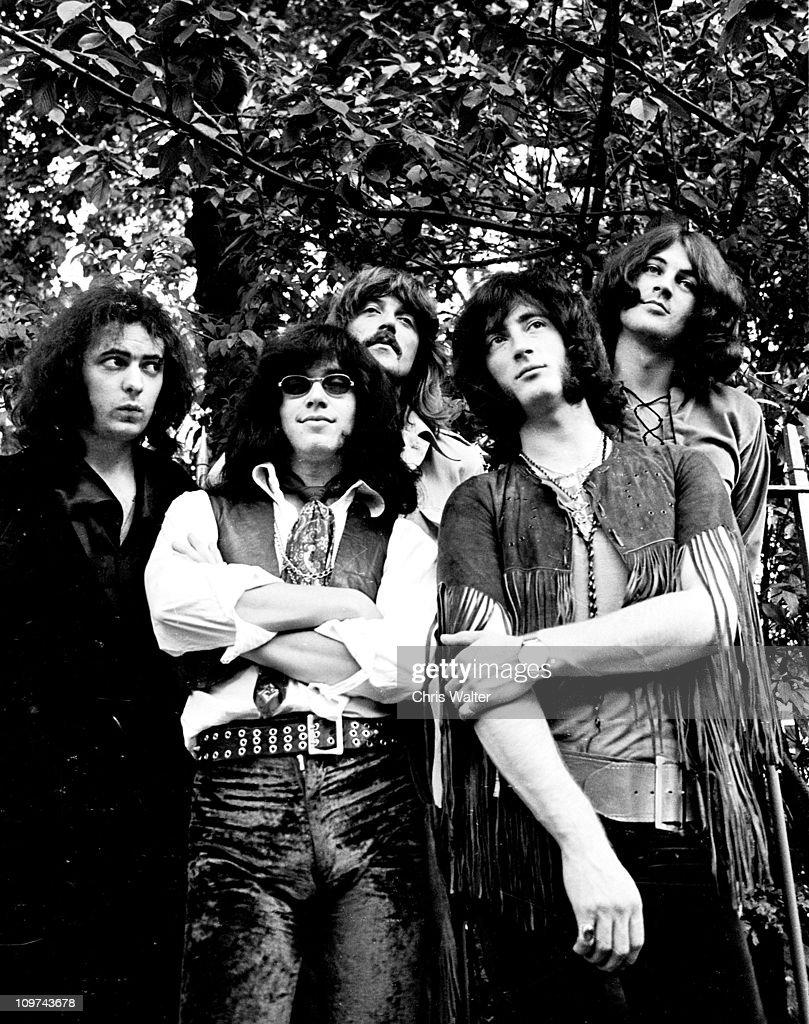 Deep Purple 1970 Ritchie Blackmore Ian Paice Jon Lord Roger Glover Ian Gillan
