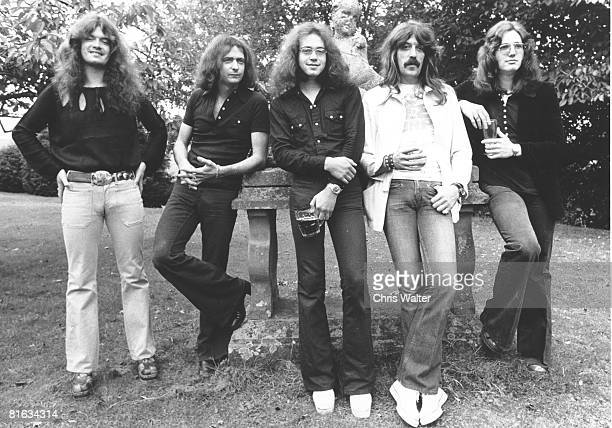 Deep Purple 1973 Glenn Hughes Ritchie Blackmore Ian Paice Jon Lord David Coverdale
