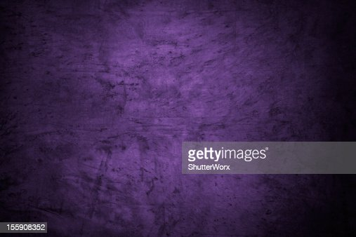 Deep Purple Abstract Pattern