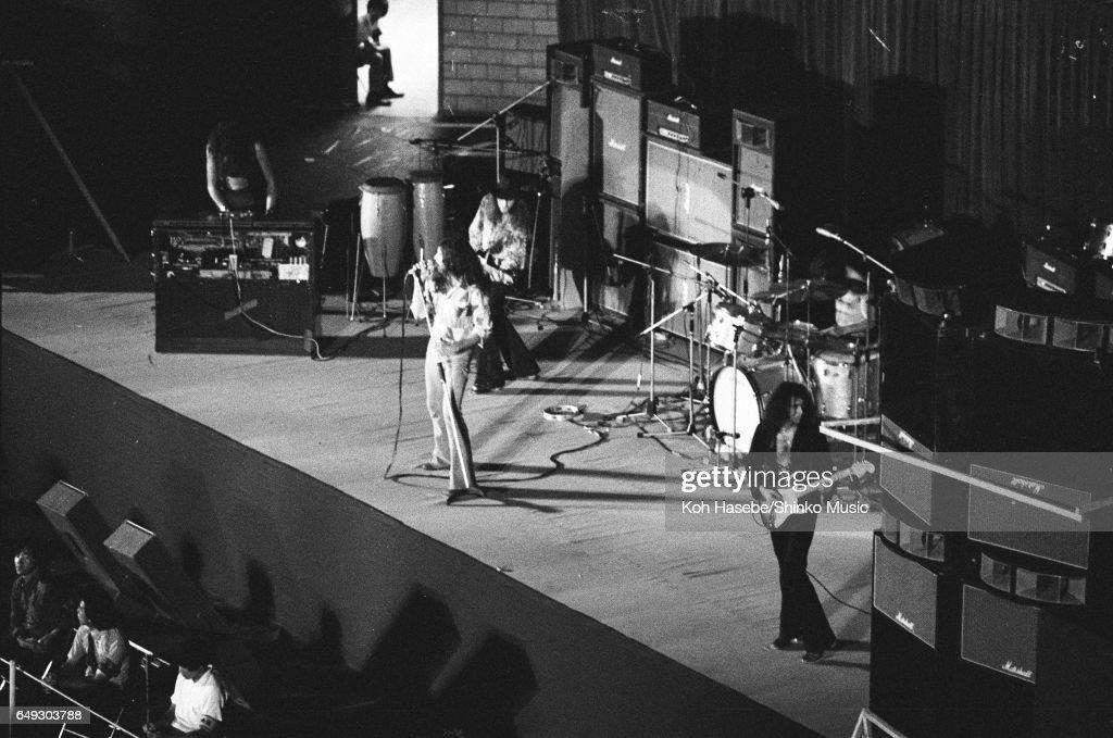 Deep Purple at Nippon Budokan, August 17th, 1972.