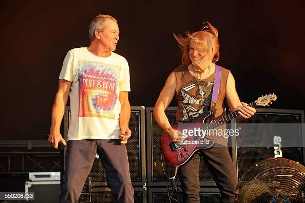 Deep Purple die britische Hardrockband mit Saenger Ian Gillan Gitarrist Steve Morse Bassist Roger Glover Keyboarder Don Airey und Schlagzeuger Ian...