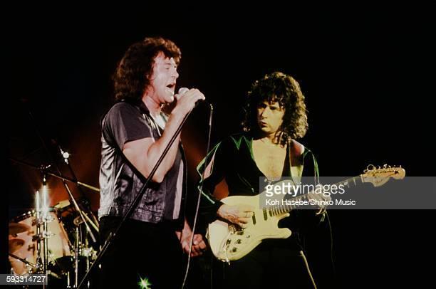 Deep Purple Ian Gillan Ritchie Blackmore live at Nihon Budokan Tokyo May 1985