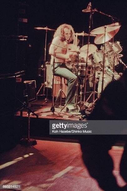 Deep Purple Ian Paice live at Nippon Budokan Tokyo December 1975