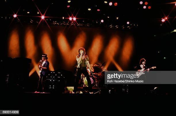 Deep Purple on Perfect Strangers tour at Nippon Budokan Tokyo May 1985